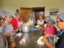 Cooking training for 21 birth mothers
